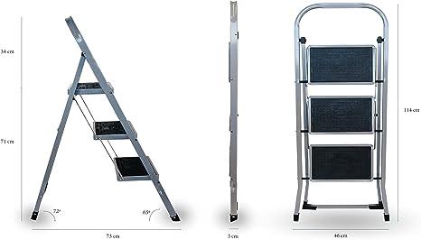 Arcama TH03 Escalerilla, 30 x 20 cm: Amazon.es: Bricolaje y herramientas