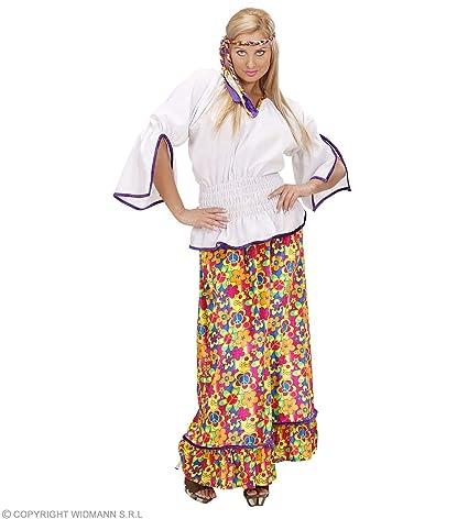WIDMANN S.R.L. - chica hippie TRAJE EN TERCIOPELO S: Amazon ...