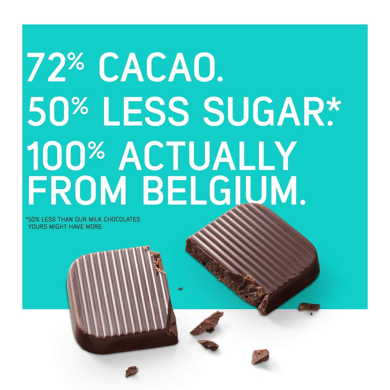 Bouchard Belgian Dark Chocolate Gluten-Free 72 % Cacao with Probiotics (100 Pieces) by Bouchard (Image #3)