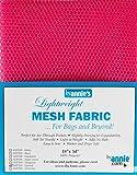 """Annie by Annie Mesh Fabric Lightweight 18""""x 54"""" Lipstick, PBA02032, Lipstick, 18"""" by 54"""""""