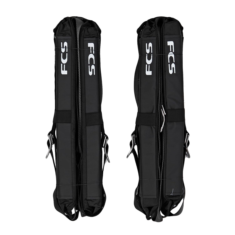 FCD - Baca doble portaequipajes para coche, color negro FCS 1900-550-00D