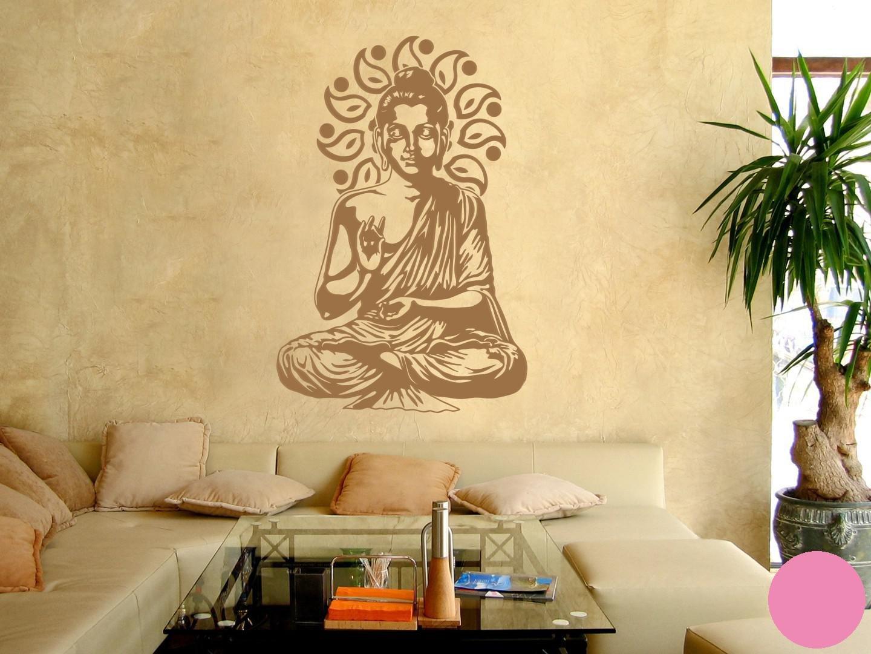 Klebefieber Wandtattoo Buddha B x H H H  67cm x 100cm Farbe  Kupfer B0722R2MVF Wandtattoos & Wandbilder 588dd6