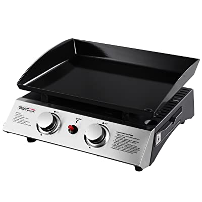 Royal Gourmet 22 Inch Tabletop Grill, Portable Propane Gas Griddle