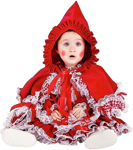 ffdf8d84dbd7 COSTUME di CARNEVALE da PICCOLA CAPPUCCETTO ROSSO LUSSO vestito per neonata bambina  0-3 Anni