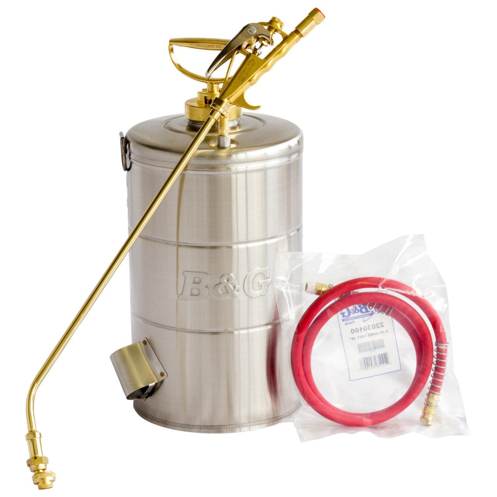 B&G 2 Gal Sprayer 18-inch Wand 4 Way Tip 48'' Hose N224-S - SPECIAL ORDER ITEM ;P#O455K5/U 7RK-B220639