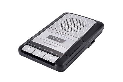 Reflexion CCR de 8010 Retro portátil láser Recorder y Auto Stop Cromo/Negro