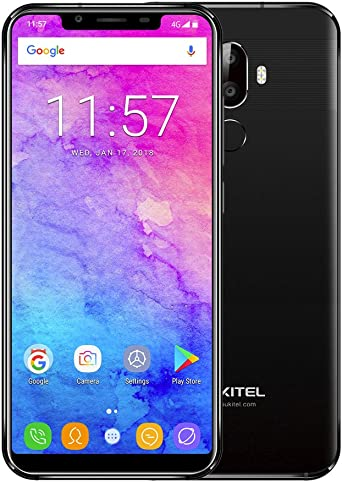 Smartphone Libre OUKITEL U18 4G Smartphone 5.85 Pulgadas Pantalla, Dual SIM Cámara Trasera, Batería incorporada 4000mAh, 4 GB RAM + 64 GB ROM no Bloqueado, Android 7.0: Amazon.es: Relojes