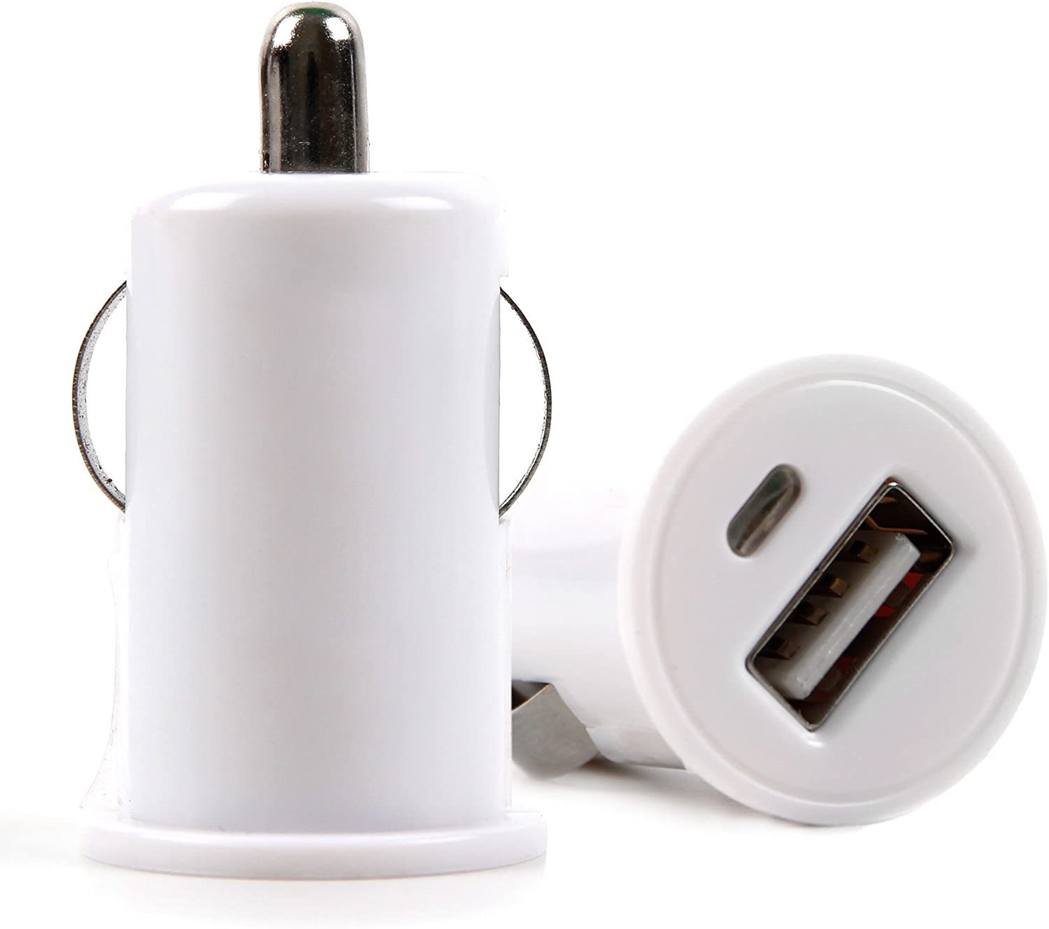 DURAGADGET White in-Car Cigarette 1 Amp Socket Charger - Compatible with Acer Iconia A1-830 | Iconia B1-720 | Iconia Tab A1-810 & Iconia Tab B1-710