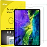 JETech 2-Pack Screen Protector for iPad Air 4 10.9-Inch, iPad Pro 11-Inch (2020 and 2018 Release Edge to Edge Liquid…