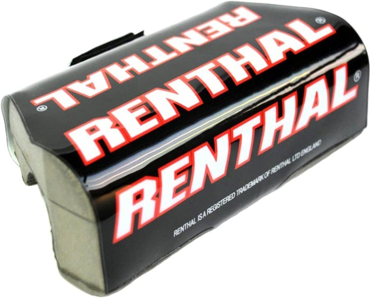 Renthal Black-Red Trials Fat Bar Pads