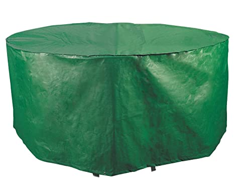 Amazing Bosmere B321 Weatherproof Round Outdoor Patio Dinning Set Cover 84 Diameter X 33 H Green Interior Design Ideas Greaswefileorg