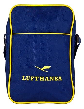 exquisite style quality special section TCM Tchibo Lufthansa Umhängetasche , Messenger Tasche , Blau ...
