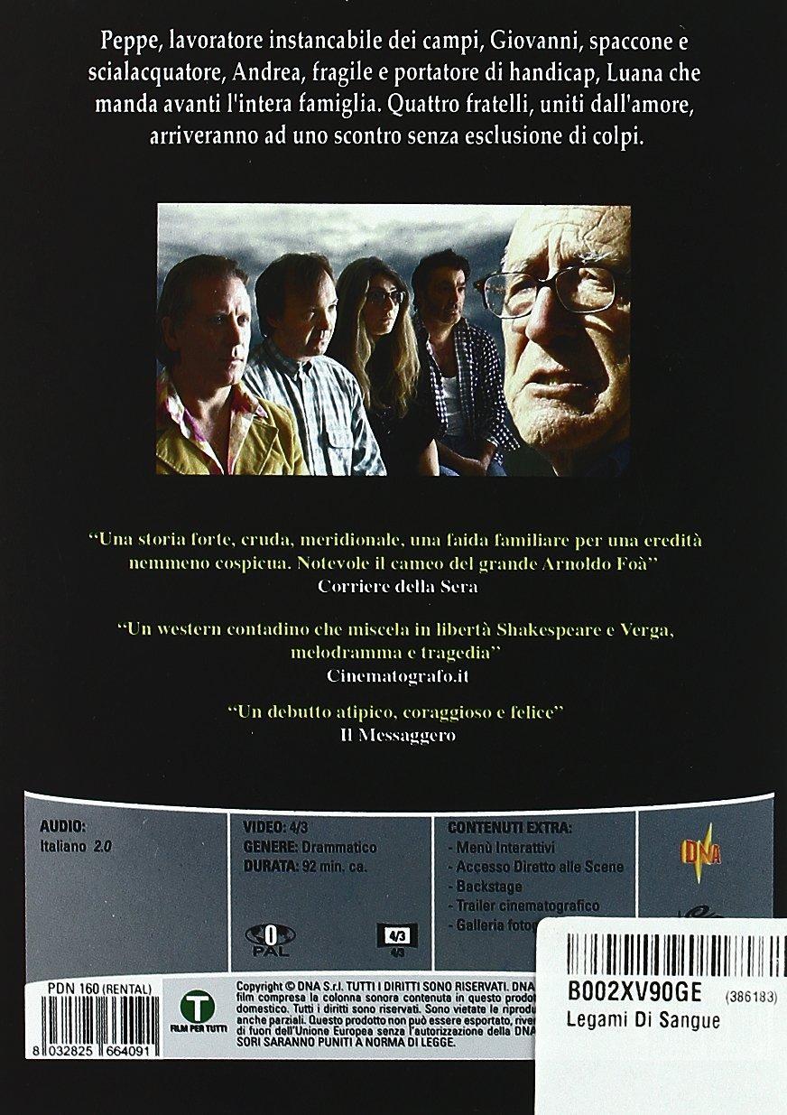 Legami Di Sangue Amazon It Capalbo Cellini Capalbo Cellini Film E Tv