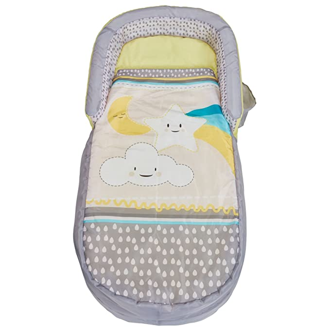 10 opinioni per Ready Bed 401CLO Letto Gonfiabile e Sacco a Pelo per Bambini 2 in 1, Grey, 130 x