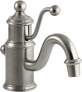 LaToscana 88PW211 Firenze Single Lever Handle Lavatory Faucet Brushed Nickel Finish