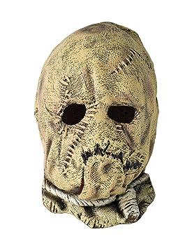 Máscara 3/4 de disfraz de espantapájaros para niños: Amazon.es ...