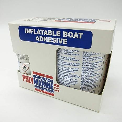Polymarine - Pegamento para barca hinchable (2 unidades): Amazon ...