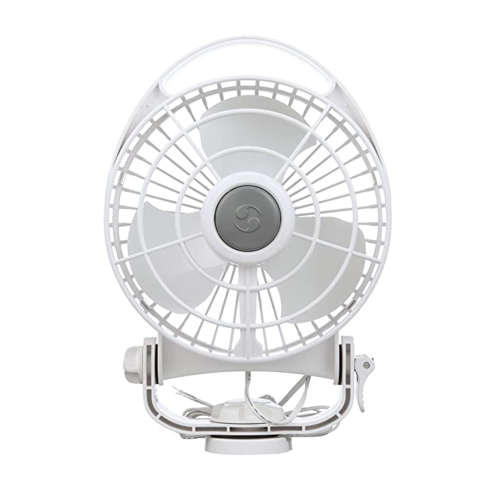 Caframo Bora 12V Marine 3 Speed Fan