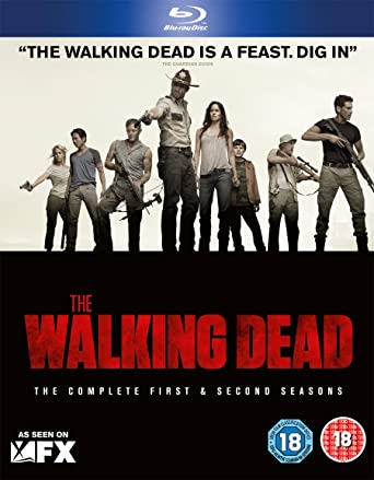 The Walking Dead Season 1 2 Blu Ray Amazoncouk