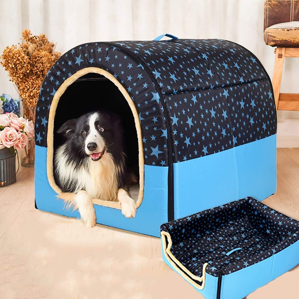 ペットハウスケンネル中型および大型犬折りたたみ式洗濯可能な犬舎ペットルームペットマットペットベッドペット用品ユニバーサル年中 (色 : E, サイズ さいず : 67*56*52) B07L5FMC21 C 67*56*52 67*56*52|C