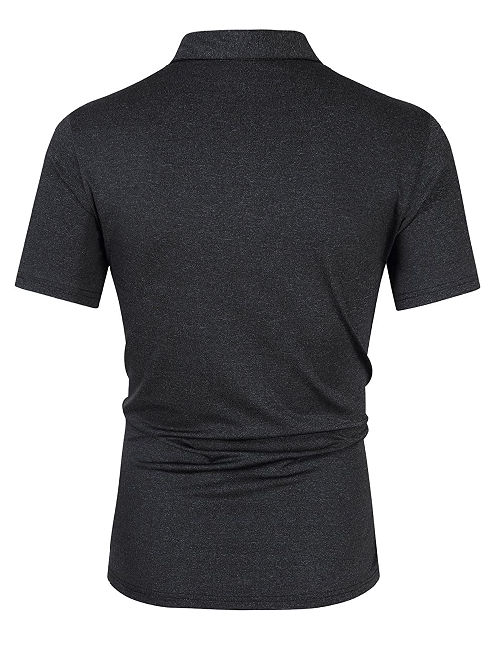 Amazon Mens Casual Dry Fit Golf Polo Shirts 2 Button Athletic