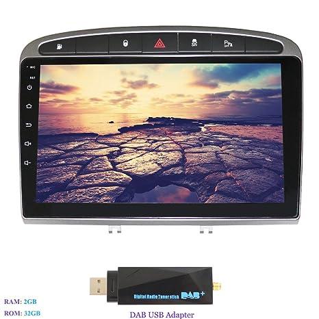 Hi-azul Android 7.1 Autoradio 1 DIN 9 Pulgadas Radio de Coche RAM 2G ROM