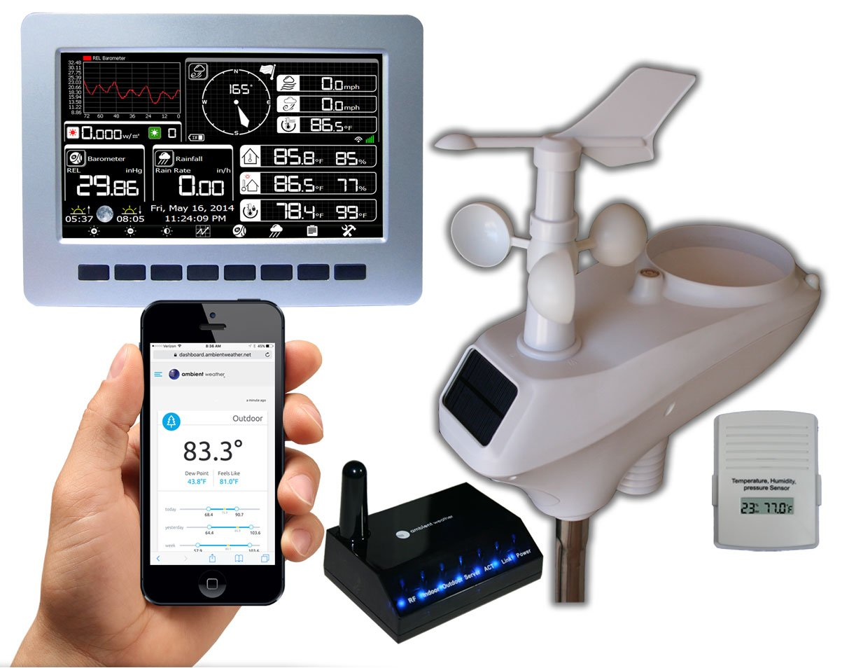 Best Rated In Weather Stations Amp Helpful Customer Reviews