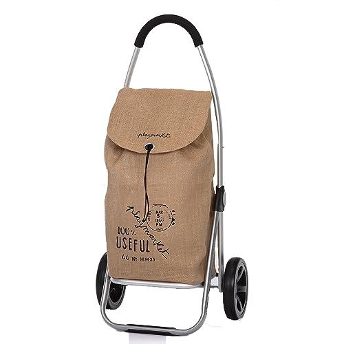 Playmarket Carro Compra Play go Two Eco Gris (Tejido Saco) 24980236: Amazon.es: Zapatos y complementos