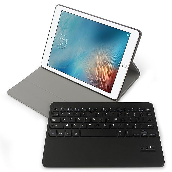 4 opinioni per Apple iPad Pro 9.7 Tastiera Bluetooth Custodia- iHarbort angolazioni multiple