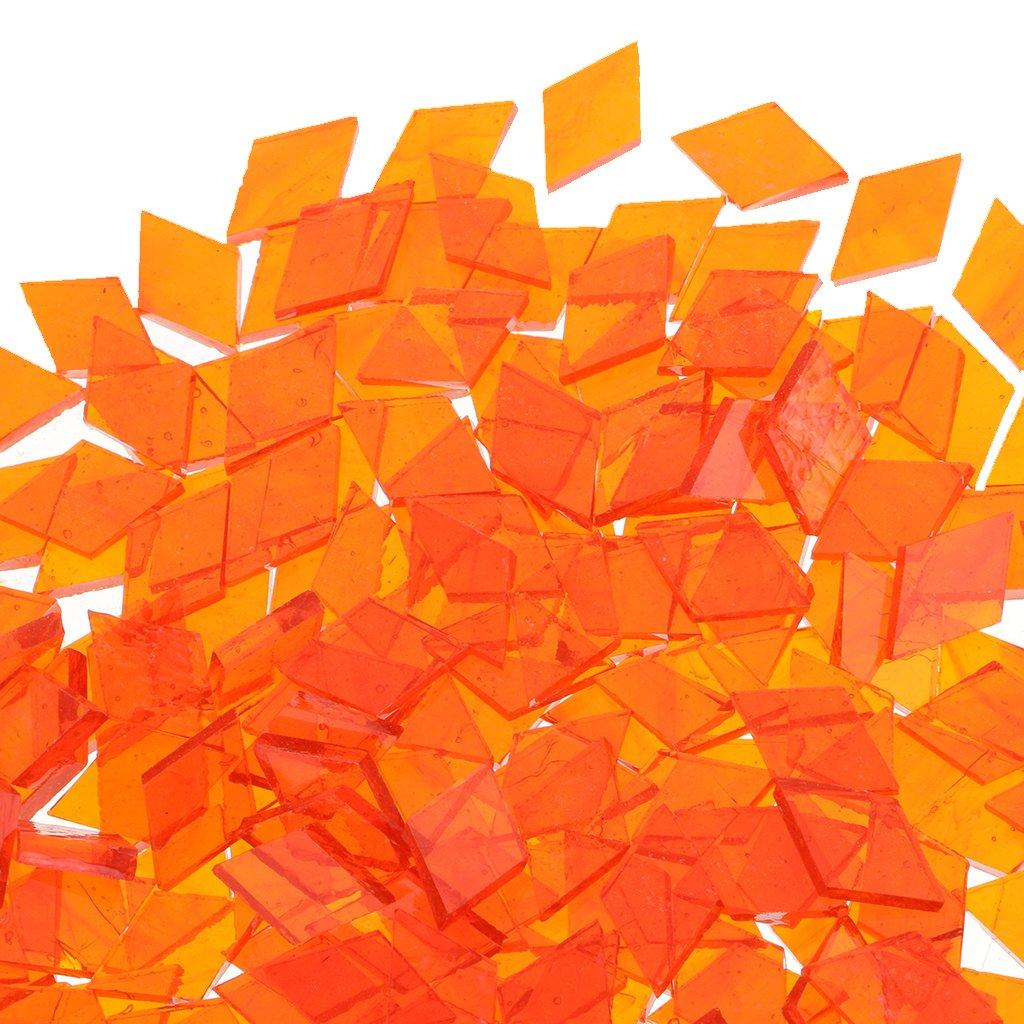 monkeyjack Bulk Geometrie klar Glas Mosaik Fliesen Stück für ...