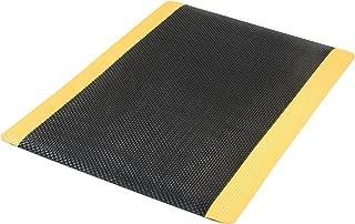 product image for Apache Mills Supreme Sliptech Mat, 36x60, Black W/Yellow Border