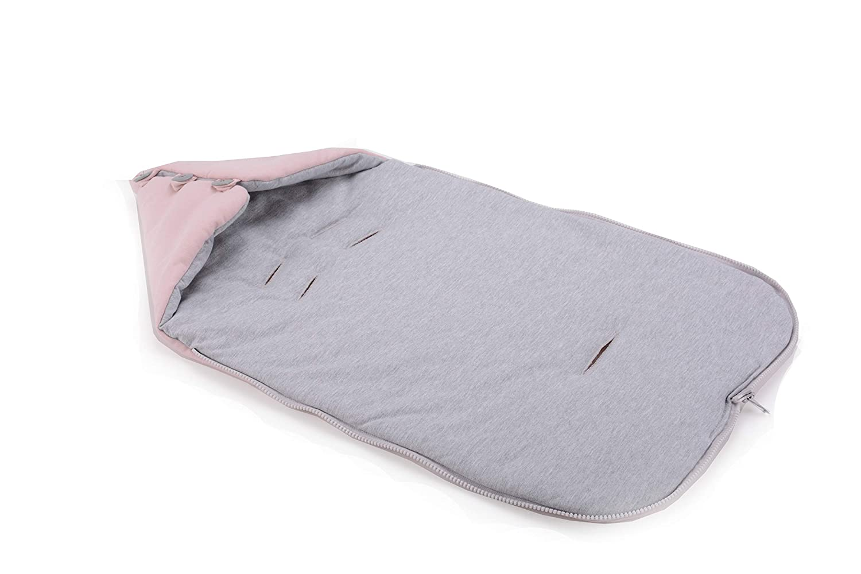 Cottonmoose Baby Moose Saco de invierno dormir t/érmico para carrito silla de beb/é universal abrigo polar 330//49 // 51 COTTON JERSEY MELANGE disponible en diferentes colores