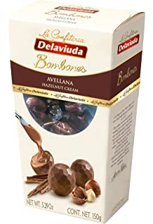 Delaviuda 1 Bombones Chocolate With Hazelnut, 150G