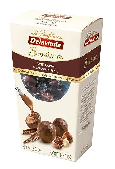 Delaviuda Bombones de Chocolate con Leche Relleno de Avenas- 150 gr