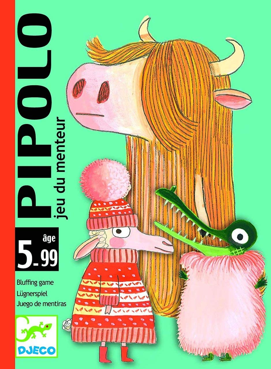 DJECO : Pipolo / Bluffing Game (Bilingual)