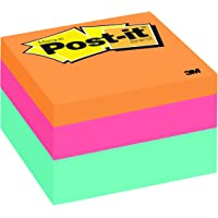 Post-it Notes Cube, 3 in x 3 in, Aqua Wave, 470 Sheets/Cube (2056-FP)