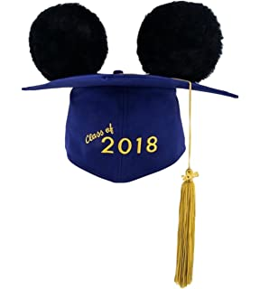 2018 Disney Parks Mickey Ears Mortar board Graduation Hat