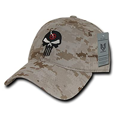Image Unavailable. Image not available for. Color  BHFC Desert Camo  Camouflage Punisher Skull Military Navy Seal Special Forces Relaxed Polo Baseball  Hat ... 762c42cb10d7