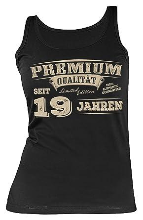 Geburtstag 19 Jahre Geschenk Damen Shirt Leiberl Geschenk Zum 19