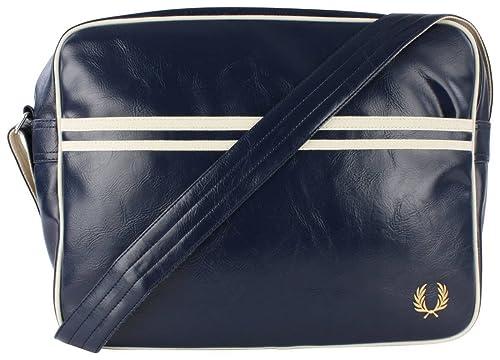 Bolsa de hombro azul marino / color crudo Classic de Fred ...