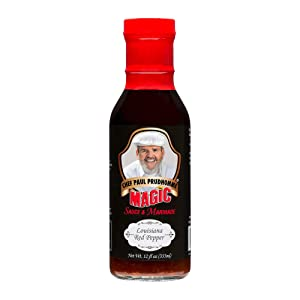 Chef Paul Prudhomme's Magic Seasoning Blends ~ Magic Sauce & Marinade - Louisiana Red Pepper