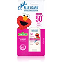 BLUE LIZARD Baby Mineral Sunscreen Stick - No Chemical Actives - SPF 50+, 0.5 Ounce