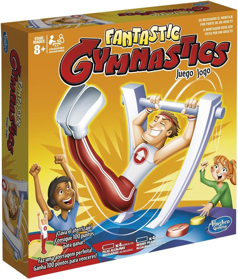 Hasbro Gaming Gaming Novedad Juego Fantastic Gymnastics (C0376175)