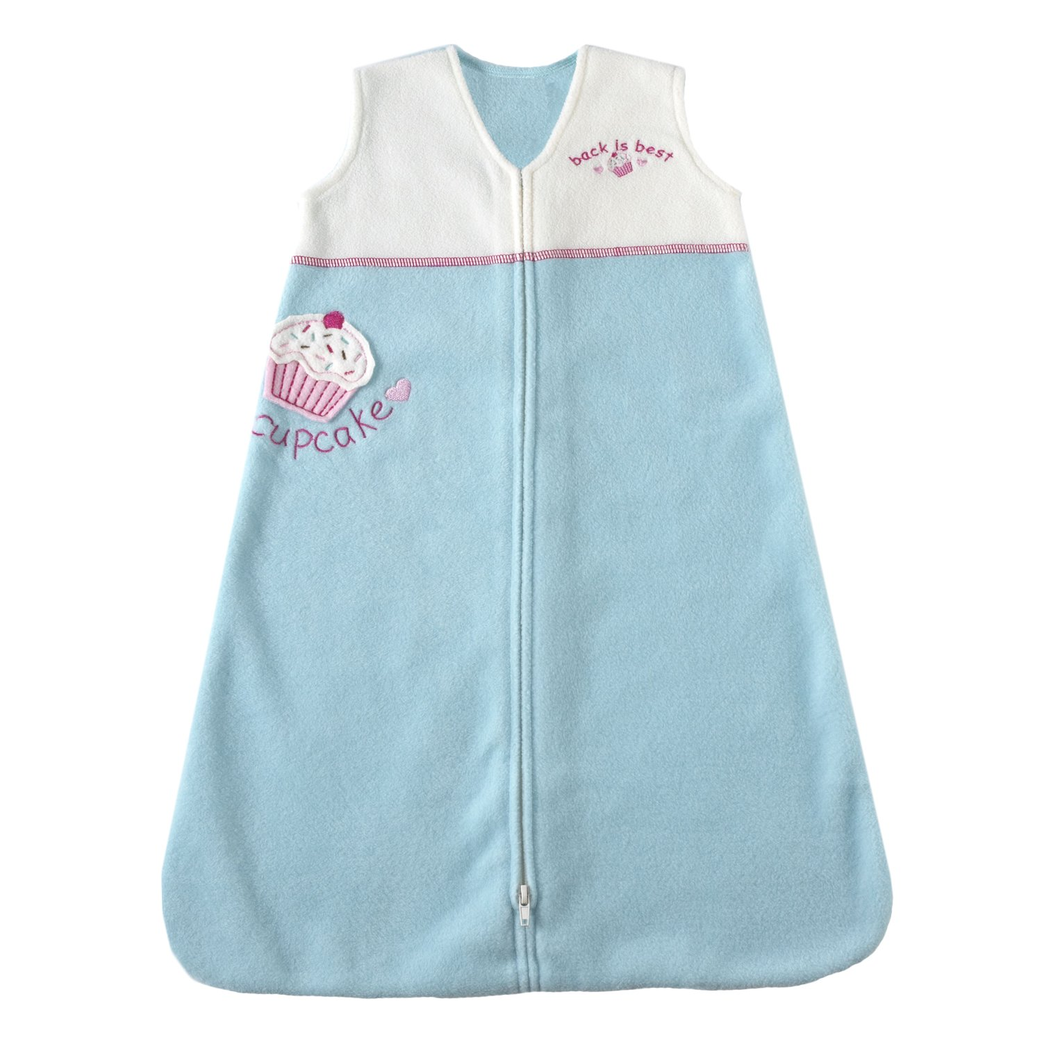 Amazon.com: HALO SleepSack Applique Micro-Fleece Wearable Blanket, Aqua, Small (Discontinued by Manufacturer): Baby