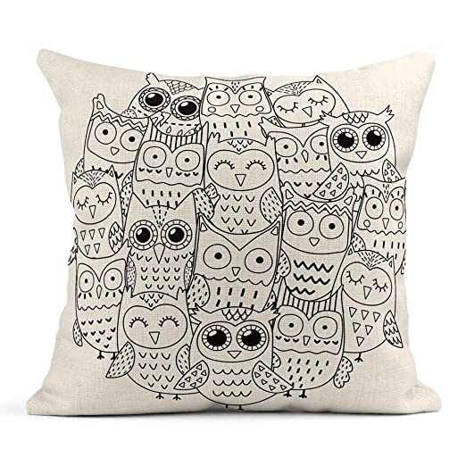 odin sky Throw Pillow Cover Imprimir Mandala Forma de ...