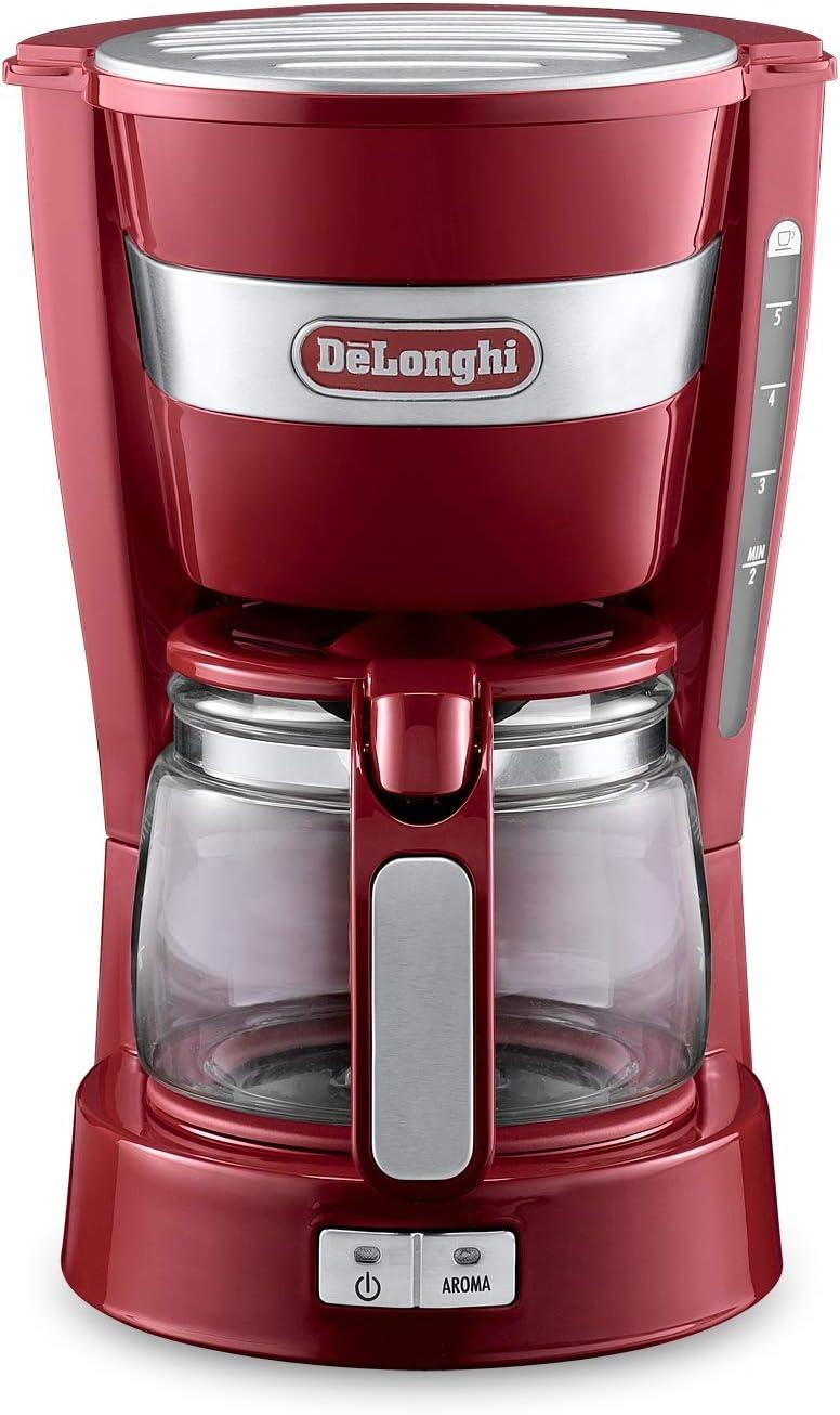 デロンギ (DeLonghi) ドリップコーヒーメーカーICM14011J-R