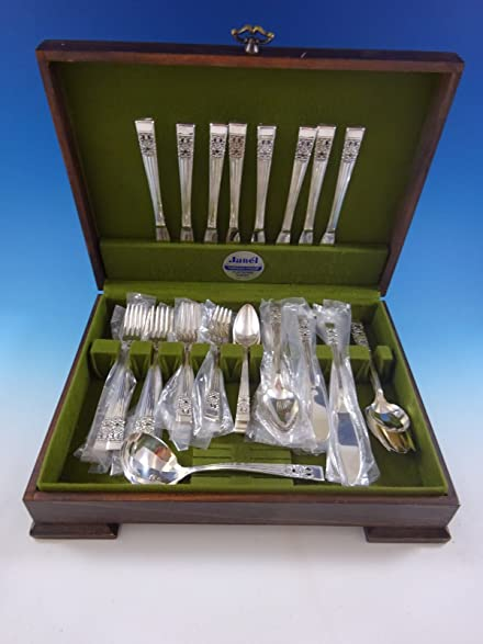 Amazon.com | Coronation by Community Silverplate Vintage Flatware ...