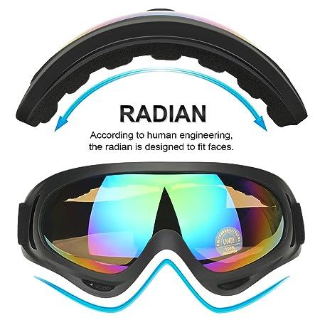 0c397a34aa1 Amazon.com   COOLOO Ski Goggles