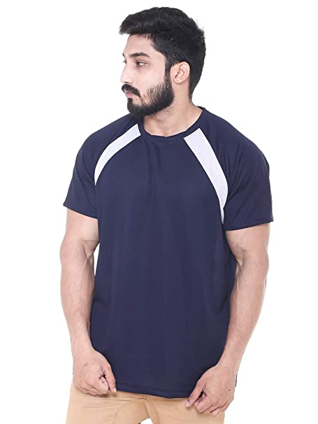 good looking how to get available EASY 2 WEAR ® Mens Polyester Jersey T-Shirts (Sizes S to 5XL) Loose and  Long Fit