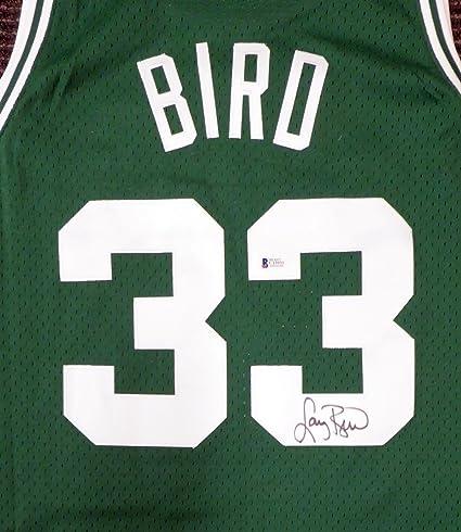 best service 566e2 00140 Boston Celtics Larry Bird Autographed Mitchell & Ness ...